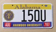 ALABAMA 2014 OAKWOOD UNIVERSITY