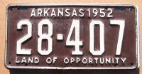 1952 ARKANSAS