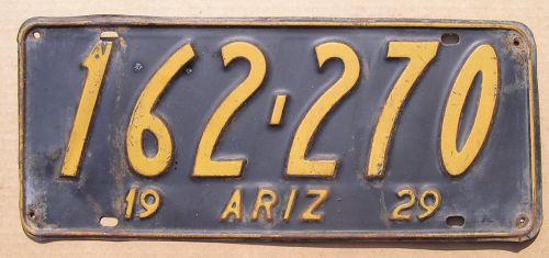 1929 ARIZONA