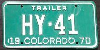 COLORADO 1970 TRAILER