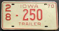 1970 IOWA TRAILER