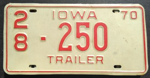 IOWA 1970 TRAILER
