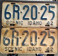 1942 IDAHO PAIR