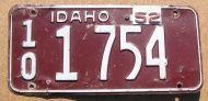 1952 IDAHO