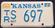 KANSAS 1987 WHITE