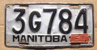 1951 MANITOBA