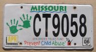 MISSOURI 2006 PREVENT CHILD ABUSE