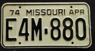 MISSOURI 1974