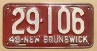 1949 NEW BRUNSWICK