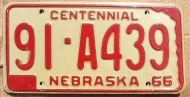 NEBRASKA 1966