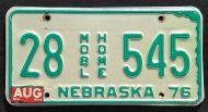 NEBRASKA 1984 MOBILE HOME
