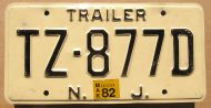1982 NEW JERSEY TRAILER