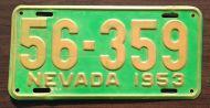 NEVADA 1953