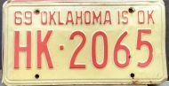 OKLAHOMA 1969