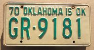 1970 OKLAHOMA - A