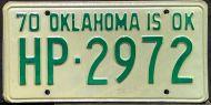 OKLAHOMA 1970