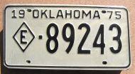 1975 OKLAHOMA EXEMPT - 2