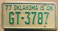 1977 OKLAHOMA - B
