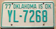 1977 OKLAHOMA - A