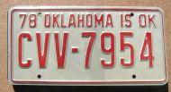 OKLAHOMA 1978
