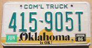 1986 OKLAHOMA COMMERCIAL TRUCK