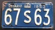 ONTARIO 1953
