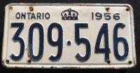 1956 ONTARIO