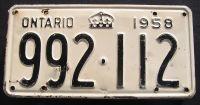 1958 ONTARIO
