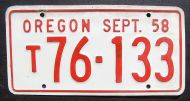 1958 OREGON QUARTERLY TRUCK - SEPTEMBER