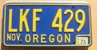 OREGON 1973