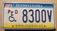 2006 PENNSYLVANIA DISABLED