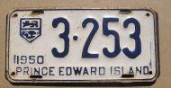 1950 PRINCE EDWARD ISLAND