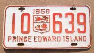 1958 PRINCE EDWARD ISLAND