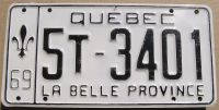 1969 QUEBEC