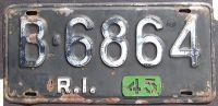 1945 RHODE ISLAND