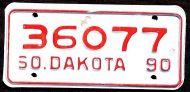 SOUTH DAKOTA 1990 MOTORCYCLE