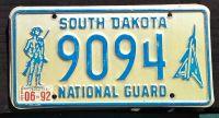 SOUTH DAKOTA 1992 NATIONAL GUARD