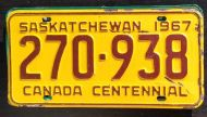 1967 SASKATCHEWAN