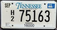 TENNESSEE 2009 TRUCK
