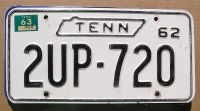 1963 TENNESSEE