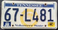 TENNESSEE 1981
