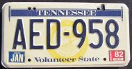 1982 TENNESSEE