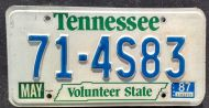 1987 TENNESSEE