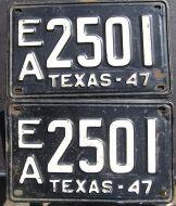 1947 TEXAS PAIR