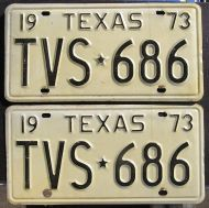 1973 TEXAS PAIR