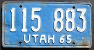 1965 UTAH TRUCK