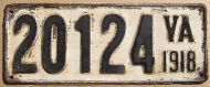 1918 VIRGINIA