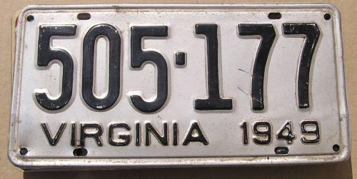 1949 VIRIGINIA