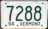 VERMONT 1954