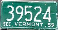 VERMONT 1959